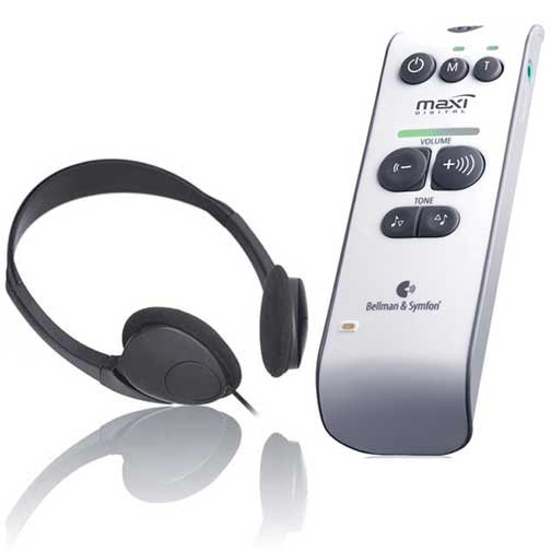 Bellman Audio Maxi is good for people who can no longer manage hearing aids.