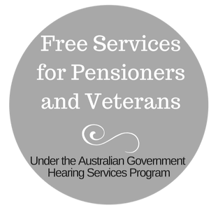 Free Hearing Services through the Australian Government hearing Services Program for pensioners and veterans.